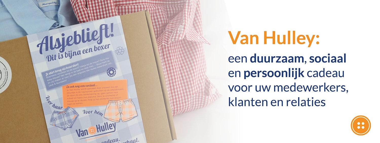 Van Hulley in GreenGiftBox online eco kerstpakket
