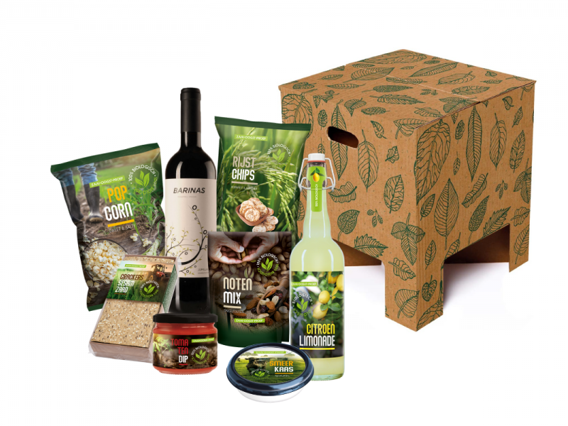 Organic leaves box